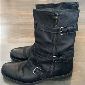 Jcrew Leather Boots